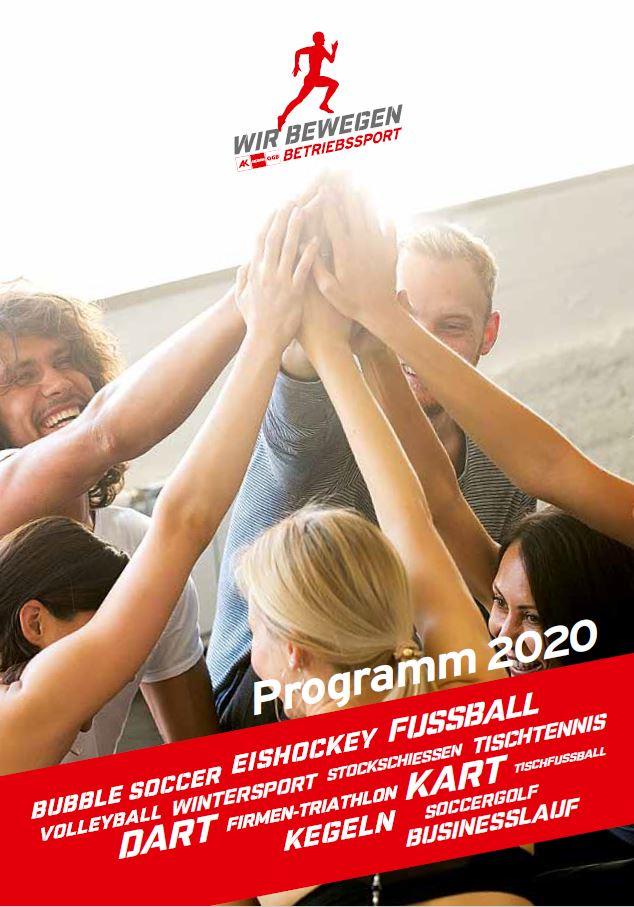 Betriebssport Salzburg Programm 2019 Cover